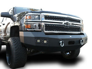 Details About 2014 2015 Chevy Silverado 1500 Chevrolet Offroad Front Bumper Steel Winch Plate