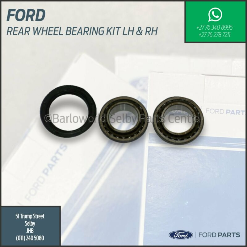 New Genuine Ford Rear Wheel Bearing Kit Lh and Rh