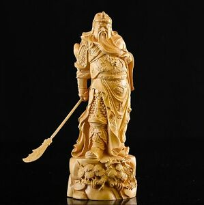 Asian collectibles fine chinese boxwood handwork carving wooden