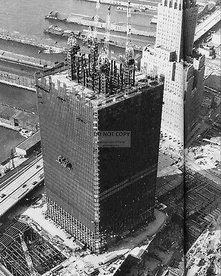 DD357 WORLD TRADE CENTER UNDER CONSTRUCTION IN 1971-8X10 PHOTO