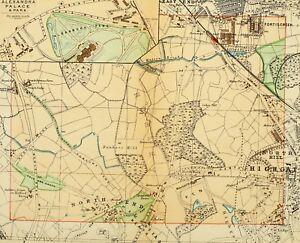 London Map Street.Details About 1891 Victorian Map Street Plan London Alexandra Palace Park Fortisgreen