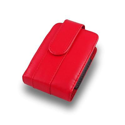 A6R Red Camera Case Bag For Canon IXUS 140 132 230 240 265 255 HS 155 145 115 HS