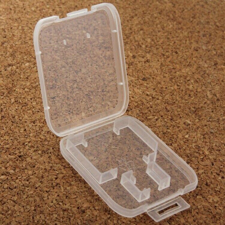 10x Case Storage Box For SD Mmc Micro SD SDHC SDXC Memory Card Z78
