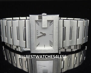44e40aad57e Gucci YA100506 Stainless Steel 100L Series Silver Tone Women s Watch ...