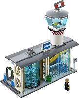 Lego City Airport - Airport Only - From 60104:- Airport Passenger Terminal