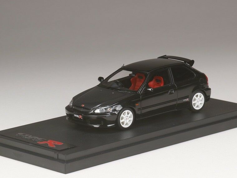 Mark 43 PM4340CBK 1 43 honda civic typer EK9 Cochebono Bonnet Estrellalight Negro Perla
