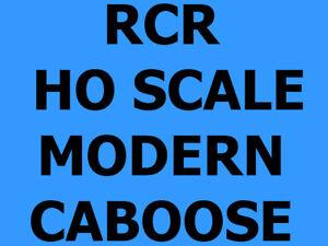RCR - HO CABOOSE 4 WINDOW (3+1) - AT&SF 1962