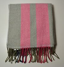 NWT WOMEN'S TOMMY HILFIGER CHEVRON PINK MUFFLER SCARF ONE SIZE RM87652735