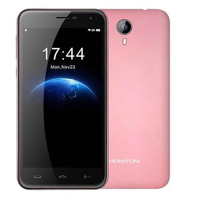 "HOMTOM HT3 Android 5.1 Quad Core Dual SIM Camera 4G Smartphone 5"" 1GB+8GB Pink"