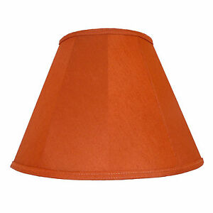 Terracotta fabric lampshades wall lights table floor standard lamps image is loading terracotta fabric lampshades wall lights table floor standard aloadofball Image collections