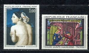 TIMBRES DE FRANCE ANNEE 1967 PAIRE Y.V. N° 1530 / 1531   NEUVE SANS CHARNIERE
