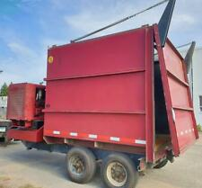 Giant Vac Leaf Vacuum 80hp 378 Ft14 Yd Self Contained Trailer