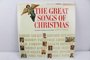 The-Great-Songs-of-Christmas-Album-Three-CSP-117-Vintage-Vinyl-Record-LP