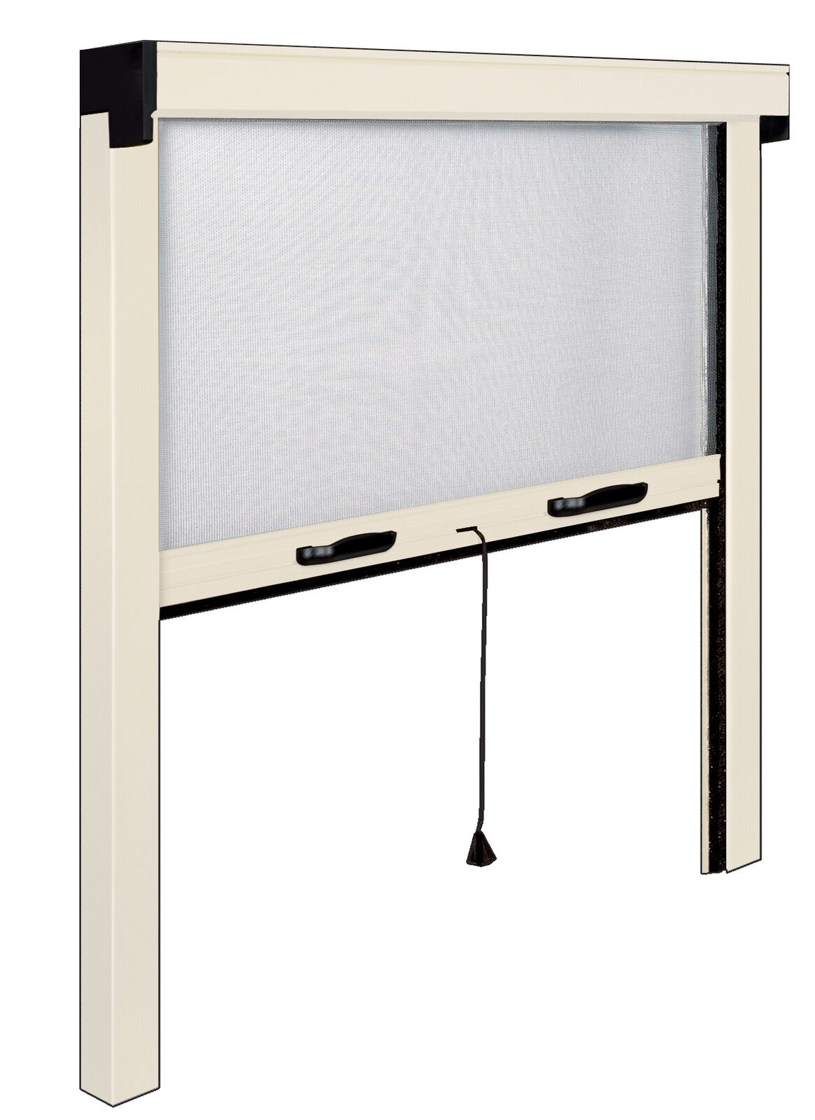Mosquito net IRS-CE aluminum ivory cm 160x170 greenical for window windows