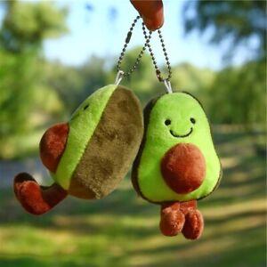 Cute-Avocado-Keychain-Fruit-Stuffed-Plush-Toy-Filled-Doll-Key-ring-Children-Gift