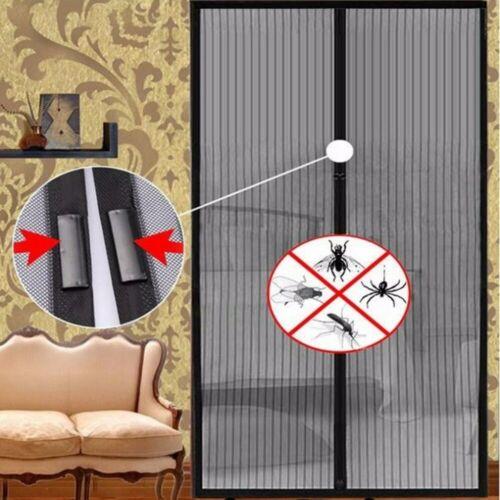 Cortina de puerta magnética para evitar insectos y niños