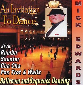 Sequence-Dance-CD-AN-INVITATION-TO-DANCE-Mick-Edwards-Easy-listening