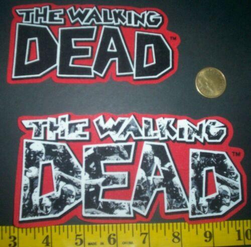The Walking Dead Apliques de tela ~ Hierro Ons nuevo