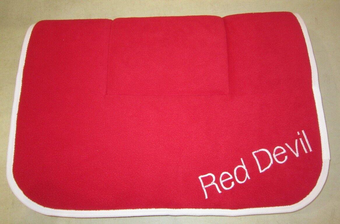 Horse Saddleblanket RED 65cm x 95cm AUSTRALIAN MADE Saddlecloth