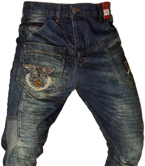 New Mens Bar of Denim Jeans, Barr Denim, Funky, Magic of Denim Style 4100 Blue