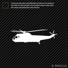 (2x) SH-3 H-3 Sea King Helicopter Sticker Die Cut Decal Self Adhesive Vinyl ASW