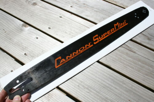 "Cannon Husqvarna H1 /""SUPERMINI/"" 18 inch chainsaw bar .325 Pitch .050 Gauge Husky"