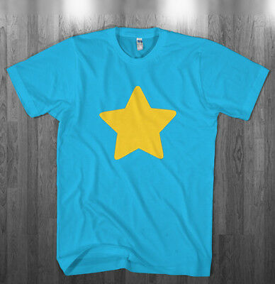 Yellow Star Blue T-shirt Halloween costume Shirts Adult Kids size