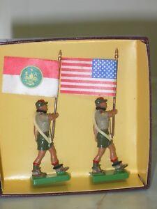 1995 Britains édition Collector 5971 Boy Scouts Of America-afficher Le Titre D'origine