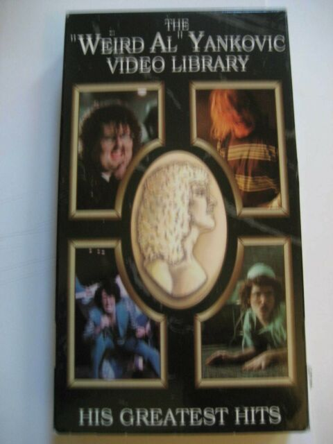 Weird Al Yankovic Video Library Vhs 1992 For Sale Online Ebay