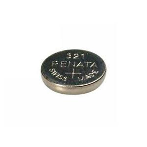 #321 (SR616SW) Renata Mercury Free Watch Batteries - Strip of 10