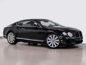 2014 Bentley Continental GT V8 Certifie Bentley Certified. Valeur de 6,500$ Va