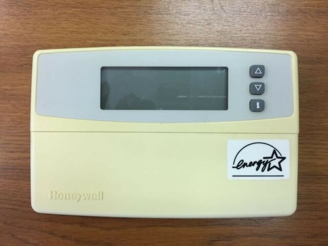 honeywell ct3500a4453 programable thermostat ct3500 white works ebay rh ebay com