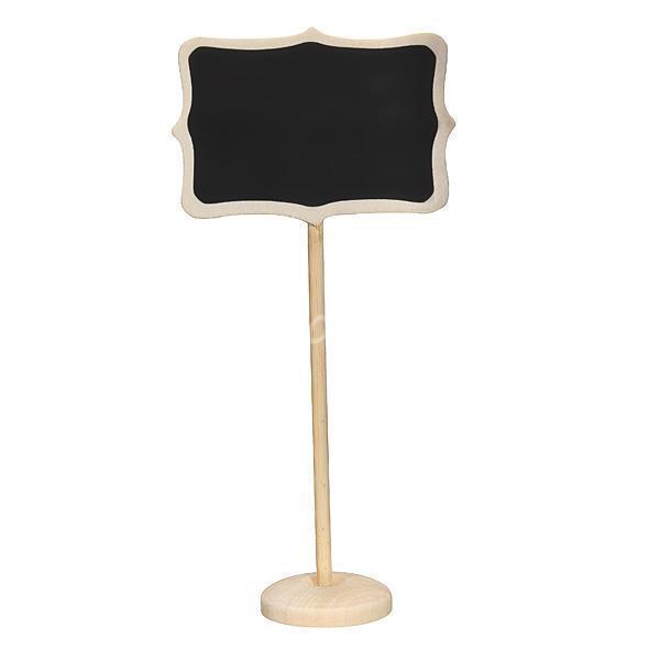 Mini Blackboard Chalkboard Wordpad Message Note Board Holder Clip Wedding Decor
