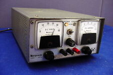 EXCELLENT USED, RUGGED KEPCO 36 VDC REGULATED POWER SUPPLY-DUAL VOLT/AMP. METERS