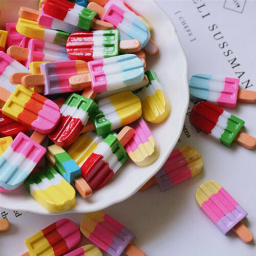 5Pcs 1:12 1:6 Dollhouse Miniature Popsicle Dolls Kitchen Food HF