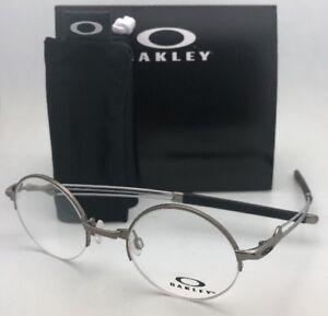 55445db4090 New OAKLEY Eyeglasses MADMAN OX5085-0243 43-21 Round Semi Rimless ...