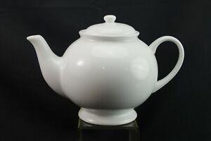 Pottery Barn Great White Teapot Ebay