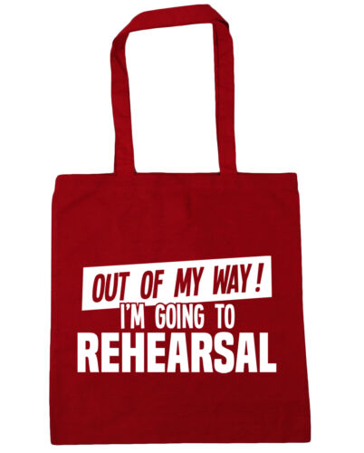 Out of My Way I/'m Going to Rehearsal Tote Shopping Gym Beach Bag 42cmx38cm 10 l