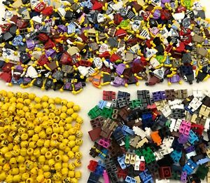 LEGO-LOT-OF-50-NEW-LEGO-MINIFIGURES-TOWN-CITY-SERIES-BOY-GIRL-FIGURE-PIECES