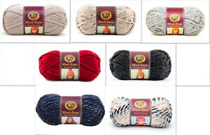 Lion-Brand-Wool-Ease-Thick-amp-Quick-Super-Bulky-Yarn-Loom-Knit-Crochet