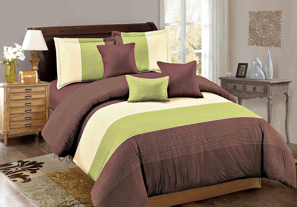 Queen King SuperKing Size Bed Duvet Doona Quilt Cover Set New Ar M312