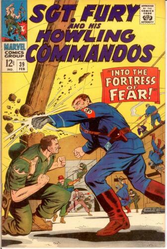 SERGEANT FURY 39 VF-NM Ayers Fortress of Fear COMICS BOOK