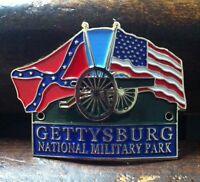 Gettysburg National Military Park Hiking Medallion, Shield, Staff