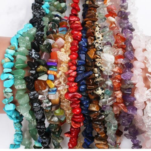 Wholesale 1Strand Beautiful Gravel Stone Loose Beads 5x8mm//15.5inch HH3644