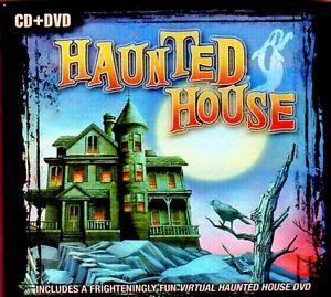 Details about HAUNTED HOUSE: HALLOWEEN MUSIC & SOUND EFFECTS CD + BONUS  VIRTUAL DVD 2-DISC SET