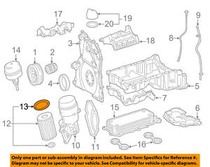 Details about MERCEDES OEM 11-13 E350 3.0L-V6 Engine-Filter Element on
