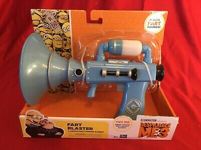 Despicable Me 3 FART BLASTER Minion Gadget Gun Sound ...