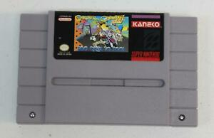 Chester Cheetah  Too Cool To Fool Nintendo SNES Game Authentic