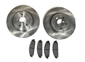 Neuf-rotor-amp-PLAQUETTES-DE-FREIN-Kit-pour-Chrysler-300C-DODGE-CHARGER