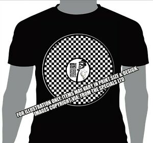 LIMITED-EDITION-T-SHIRT-2TONE-SKA-FROM-THE-SPECIALS-RUDE-BOY-NEVILLE-STAPLE